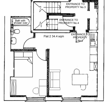 property 2 and 3 one bedroom flats for web link.JPG